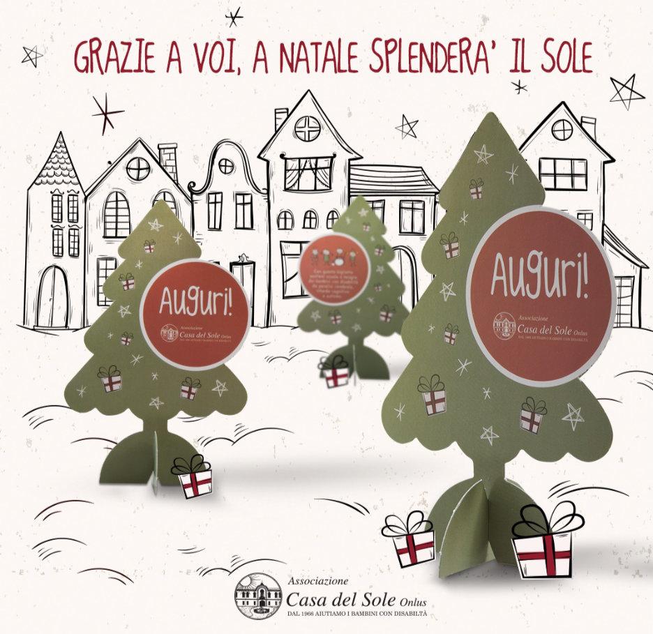 Biglietti Di Natale Via Mail.Idee Per Natale Privati Associazione Casa Del Sole Onlus Dal 1966 Aiutiamo I Bambini Cerebropatici